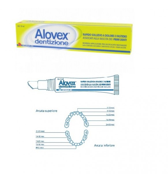 GEL ALOVEX DENTIZIONE 10ML