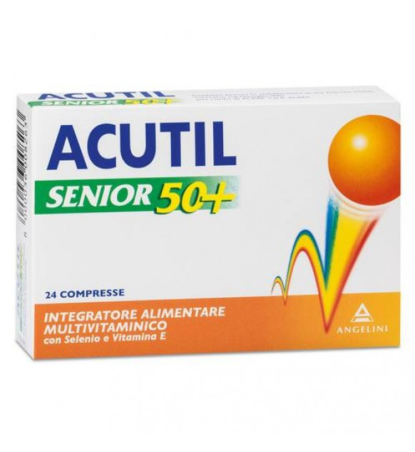 ACUTIL MULTIVIT SENIOR50+24CPR