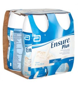 ENSURE PLUS VANILLA 4X200ML