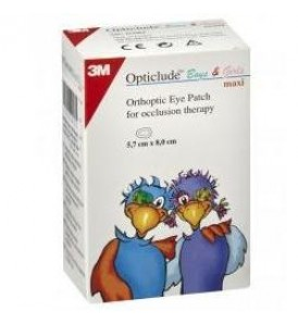 OPTICLUDE BOYS&GIRLS 5X6CM 30P