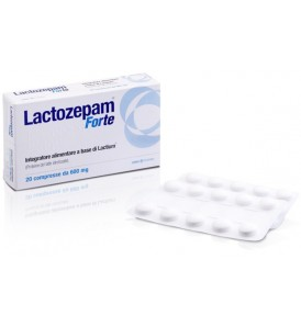LACTOZEPAM FORTE 20CPR