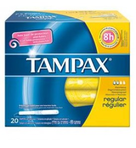TAMPAX BLUE BOX REGULAR 20PZ