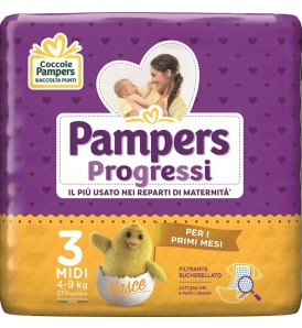 PAMPERS PROGRESSI MIDI 27PZ