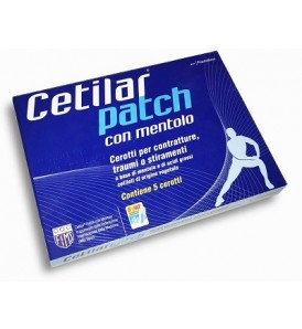 CETILAR PATCH MENTOLO 5PZ