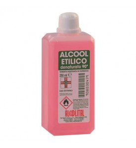 ALCOOL ETILICO DENATURATO 90% 250ML