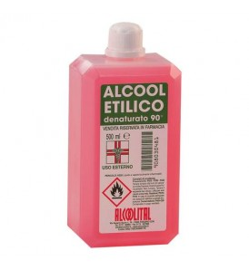 ALCOOL ETILICO DENATURATO 90% 500ML