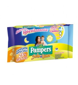 WIPES SOLE LUNA SALV 40+14PZ *A*