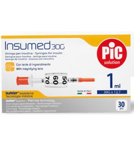 INSUMED SIR PIC 1ML G30X12,7MM