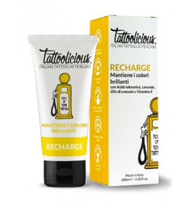 Tattoolicious® RECHARGE Mantiene i Colori Brillanti